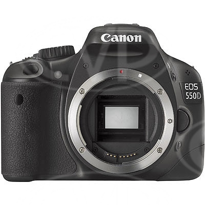 Canon EOS 550D 18MP digital SLR camera with 1080p HD