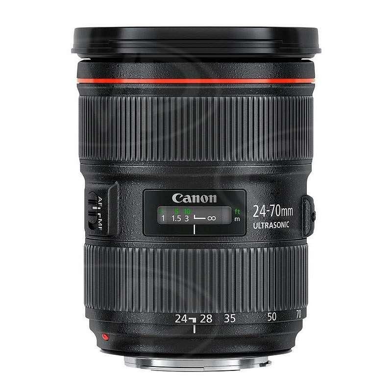 Canon EF 24-70mm f/2.8L II UsM standard zoom lens (Canon
