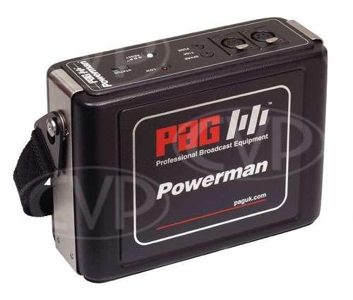 PAG 9339 Powerman Ni-Cd Battery Pack with 2 x XLR-4