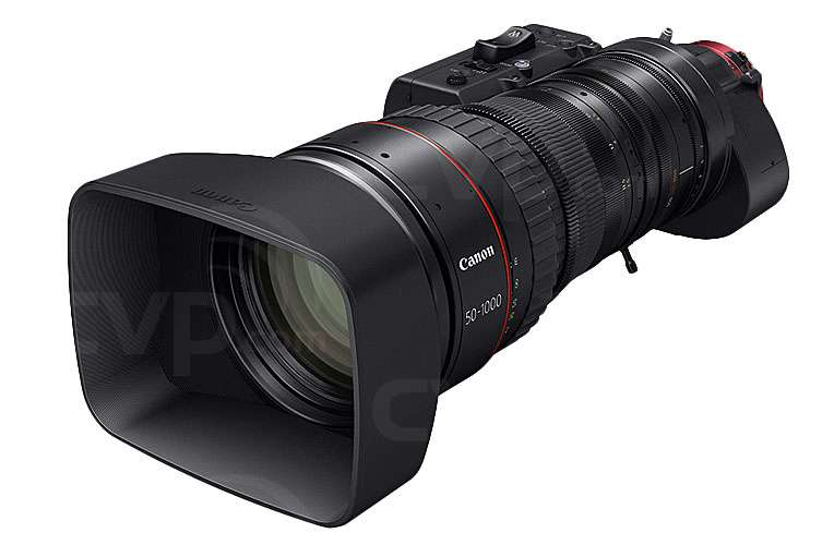 Canon CN20x50 IAS H E1/P1 4K EF Mount Cine Servo