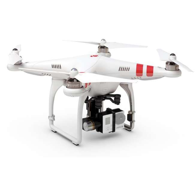 DJI Phantom 2 - QuadCopter with H3-2D  2-Axis Gimbal and Remote Control (Phantom2-H3-2D)
