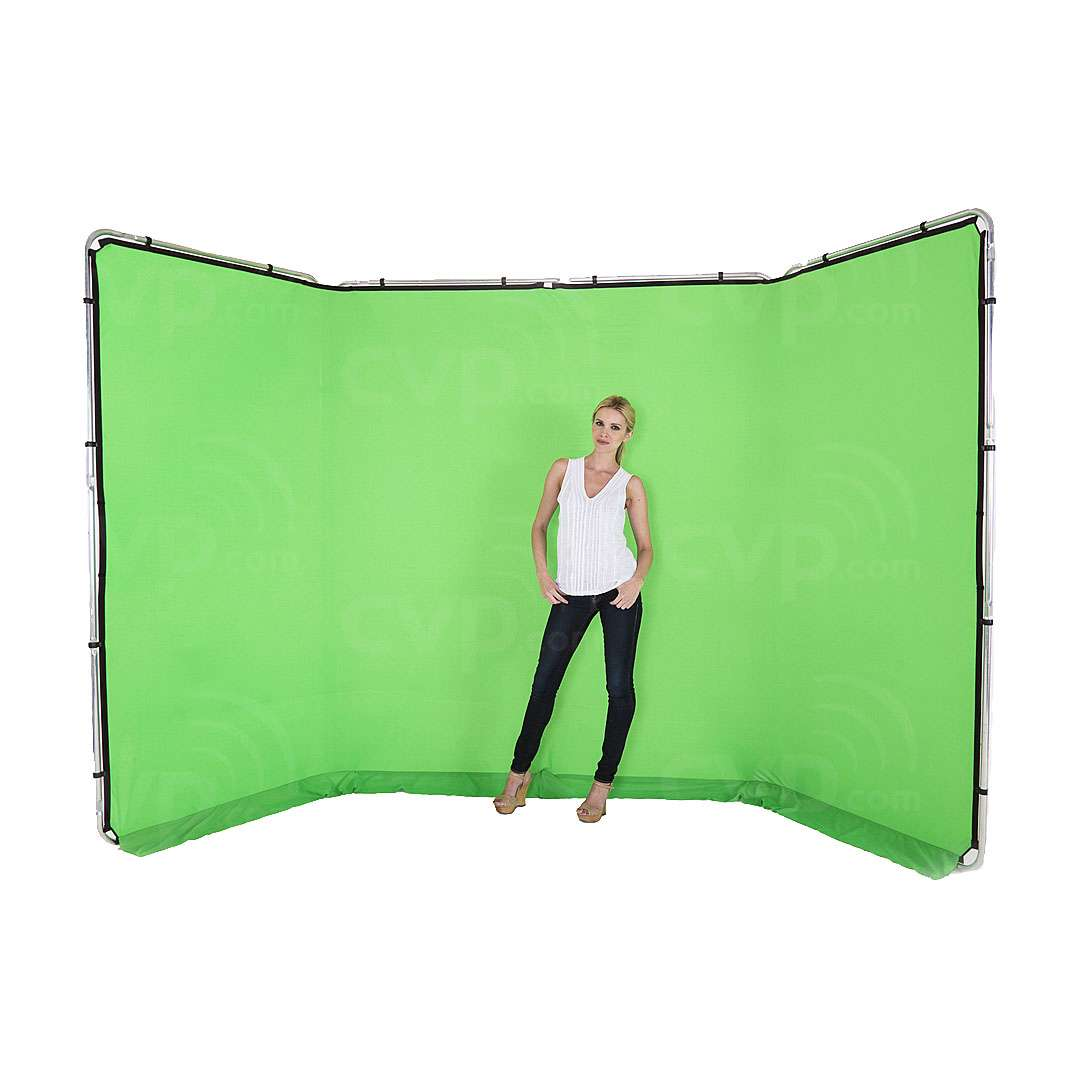 Lastolite LL LB7622 (LLLB7622) Panoramic Background 4m - Chromakey Green