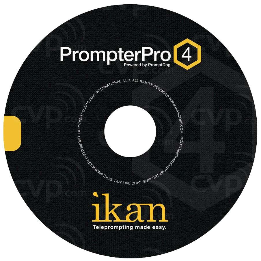 Ikan PrompterPro 4 Software