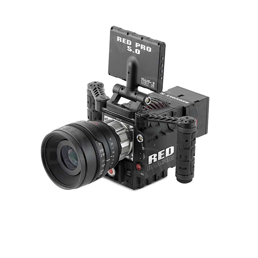RED Dual Outrigger Handle (Adjustable) for operating RED EPIC or
