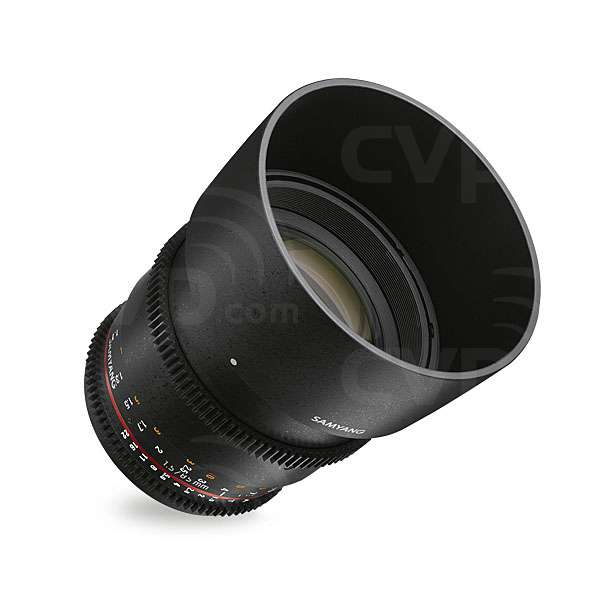 Samyang (7817) 85mm T1.5 VDSLR AS IF UMC II Lens,