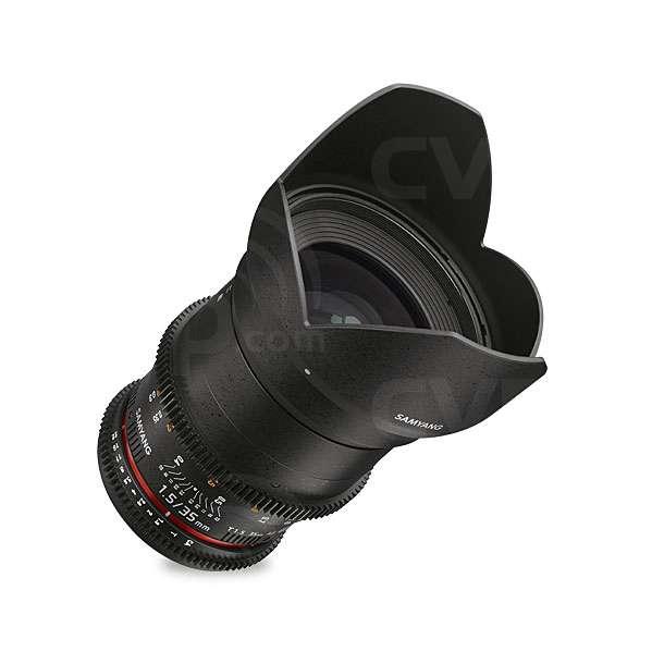 Samyang (7812) 35mm T1.5 VDSLR AS UMC II Lens, Micro