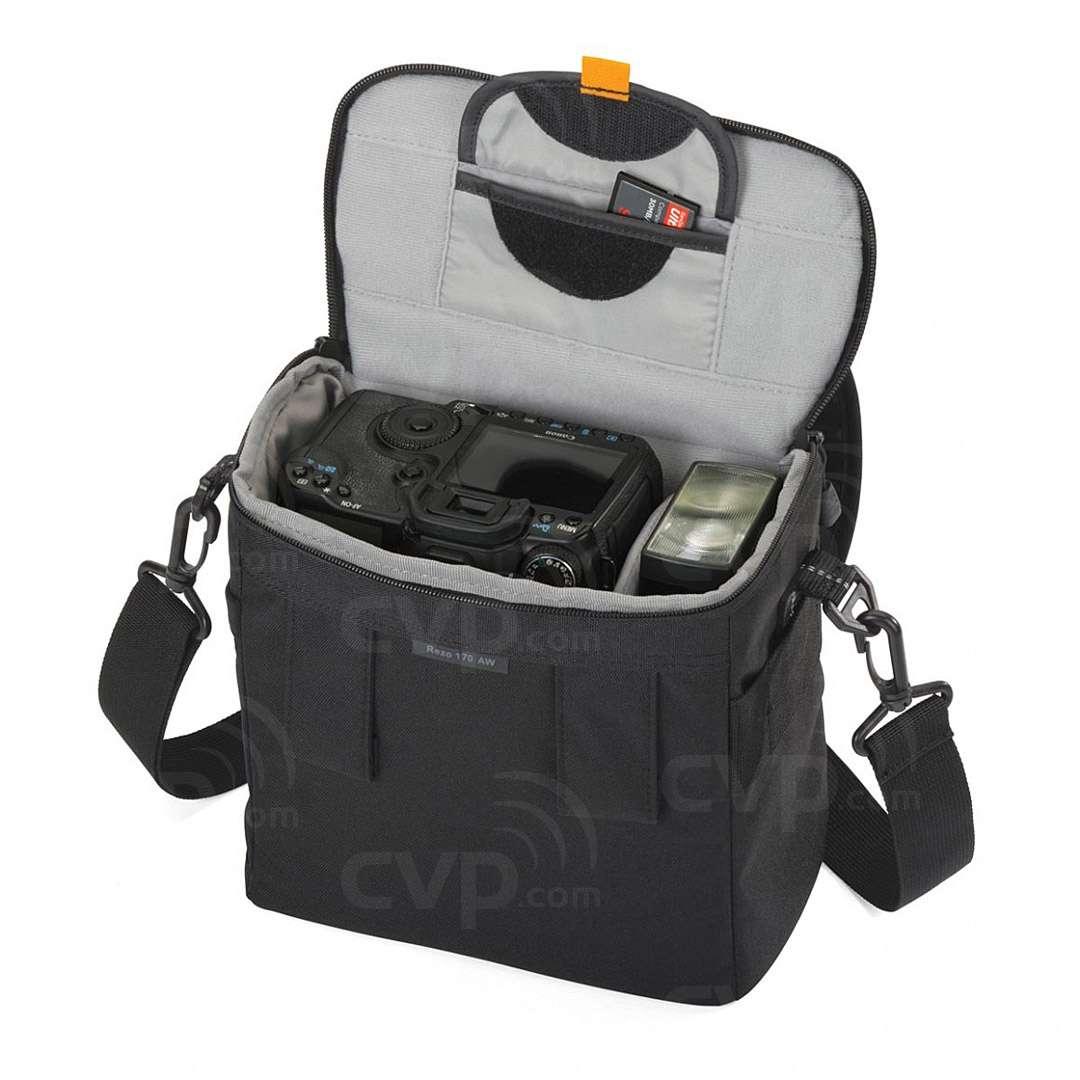 Lowepro Rezo 170 Aw Camera Shoulder Bag Sandisk 19