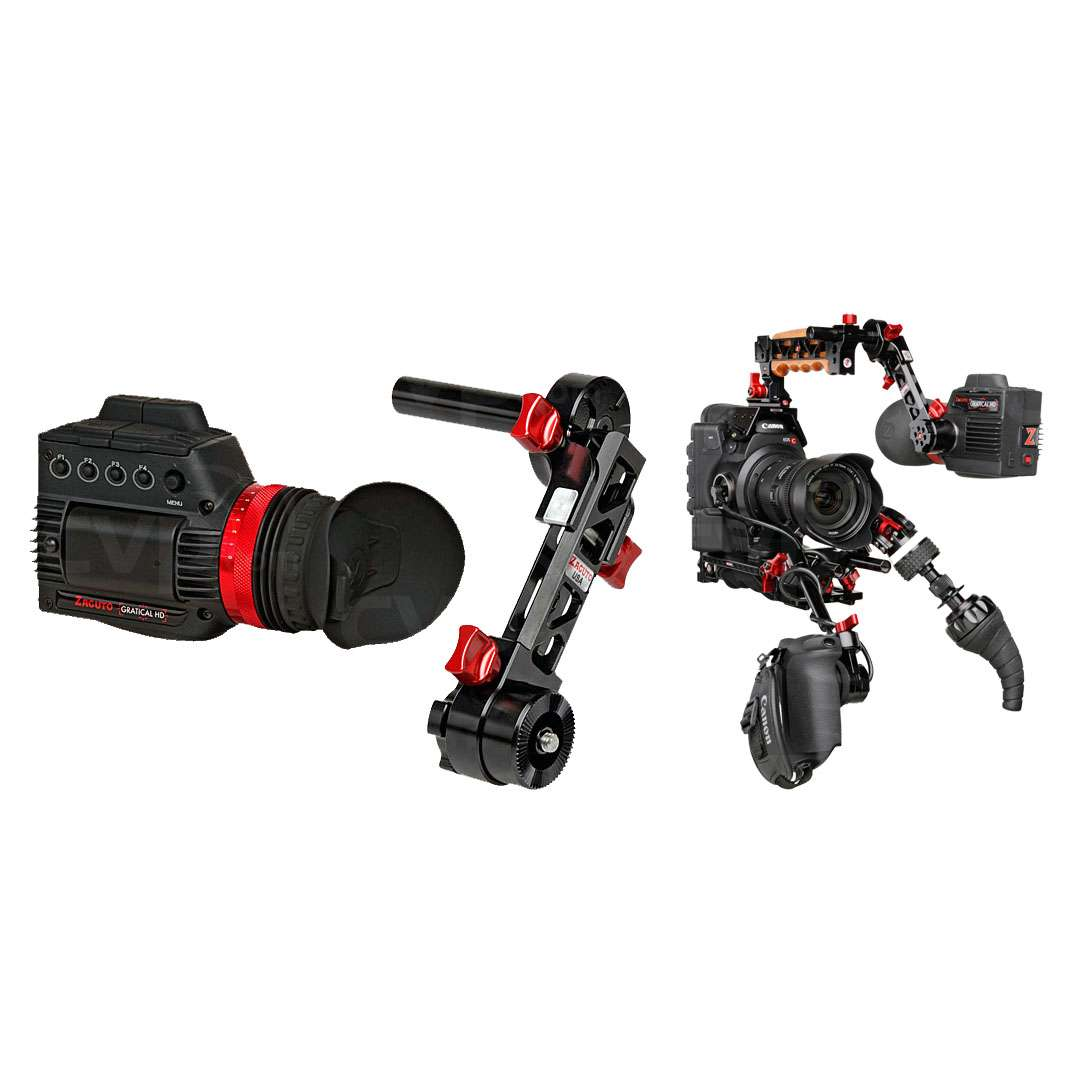 Zacuto Z-C300ERGHDB (ZC300ERGHDB) Canon C300 Gratical Bundle including 1 x