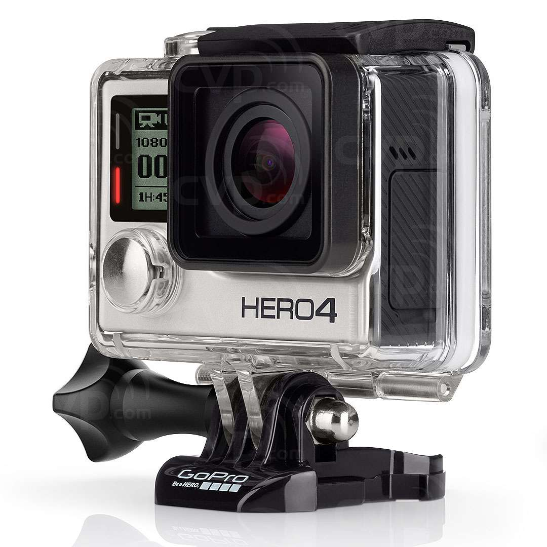 buy gopro hero4 silver with 1080p video 12mp photos. Black Bedroom Furniture Sets. Home Design Ideas