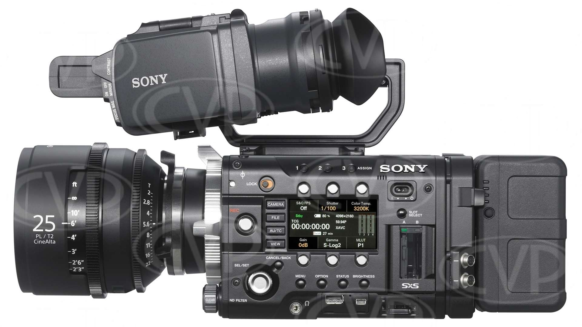 Sony PMW-F5 (PMWF5) Super 35mm Full HD 4K CMOS Sensor