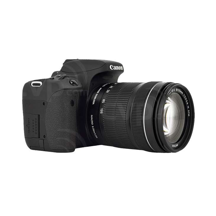 Canon EOS 760D with 18-130mm Lens