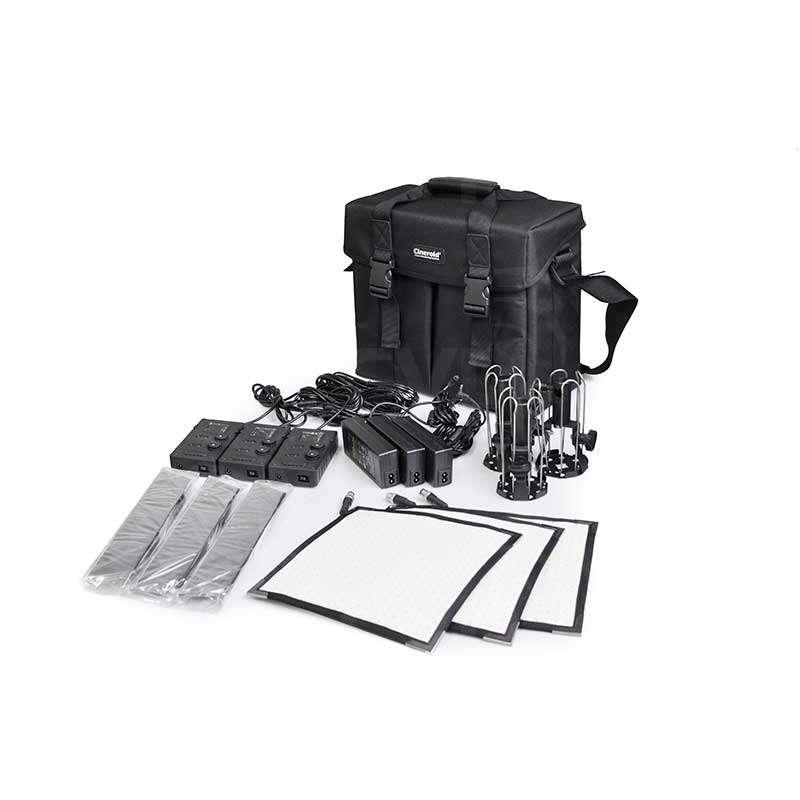 Cineroid FL400-3S Lighting Kit