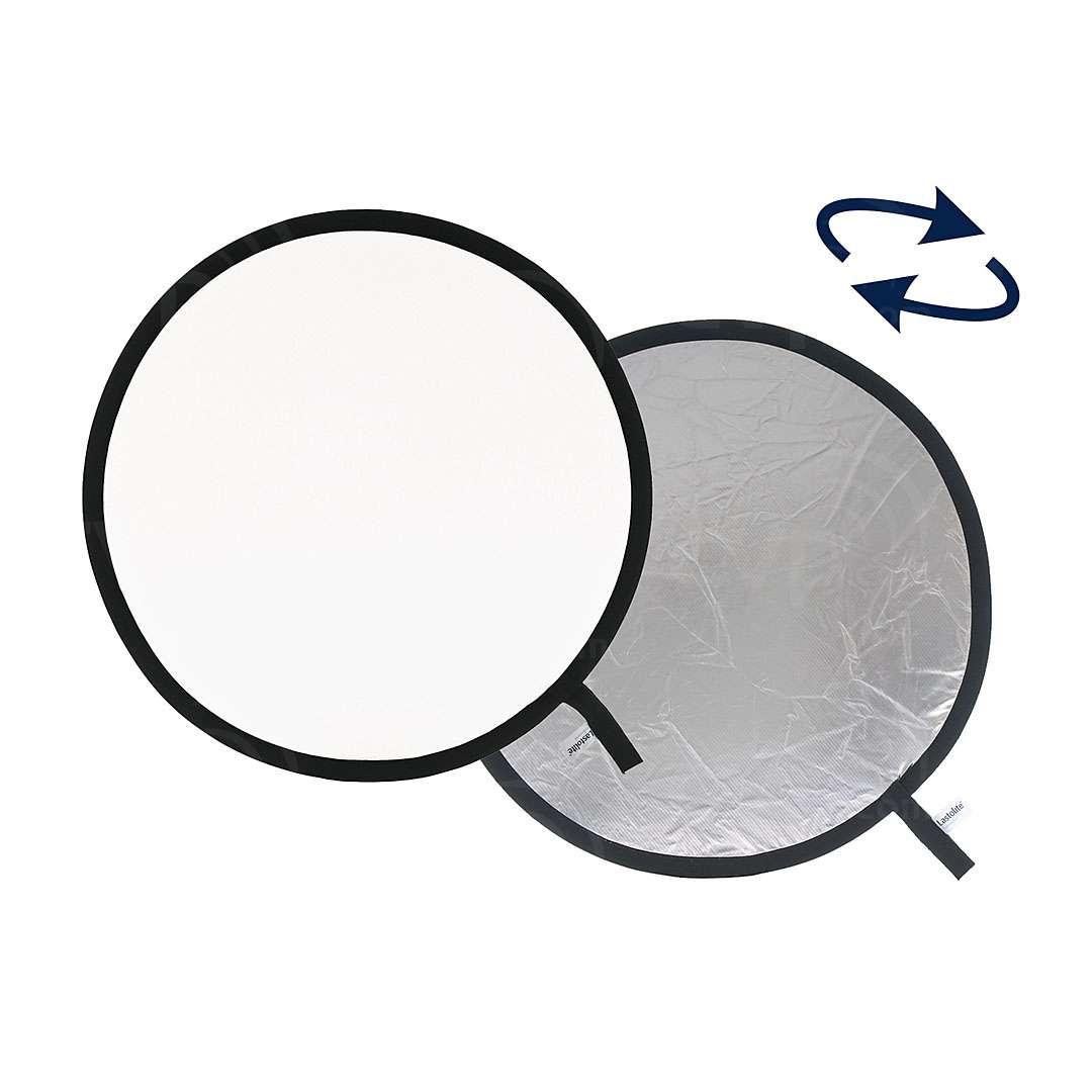 Lastolite (LL LR3031) Collapsible Reflector 75cm Silver/White