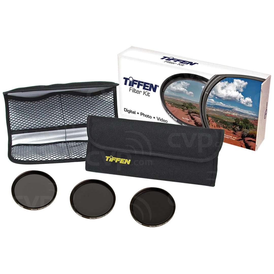 Tiffen 46NDK3 46mm Digital Neutral Density Filter Kit (ND 0.6,