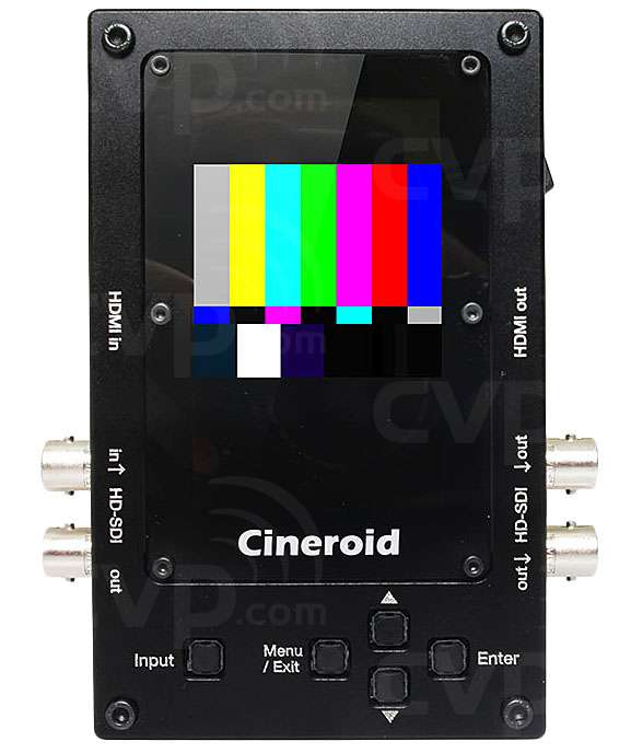 Cineroid PG32e (PG-32e) 3G Pattern Generator, Signal Converter and Video