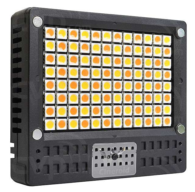 Cineroid L10C-VCe (L10CVCe) Compact High-Power On-Camera LED Light