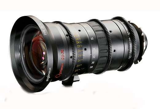 Angenieux Optimo 28-76 T2.6 PL Mount Electronic Cinema Zoom Lens