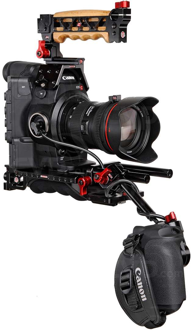 Zacuto EVF Recoil Rig for the Canon C300 and C500