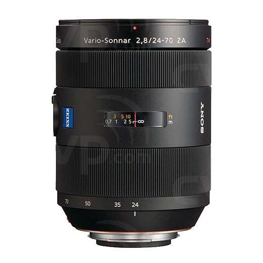 Sony 24-70mm f2.8 ZA SSM Vario-Sonnar T* Lens by Carl