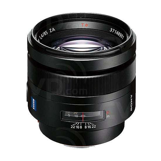 Sony 85mm f1.4 ZA Planar T* Lens by Carl Zeiss