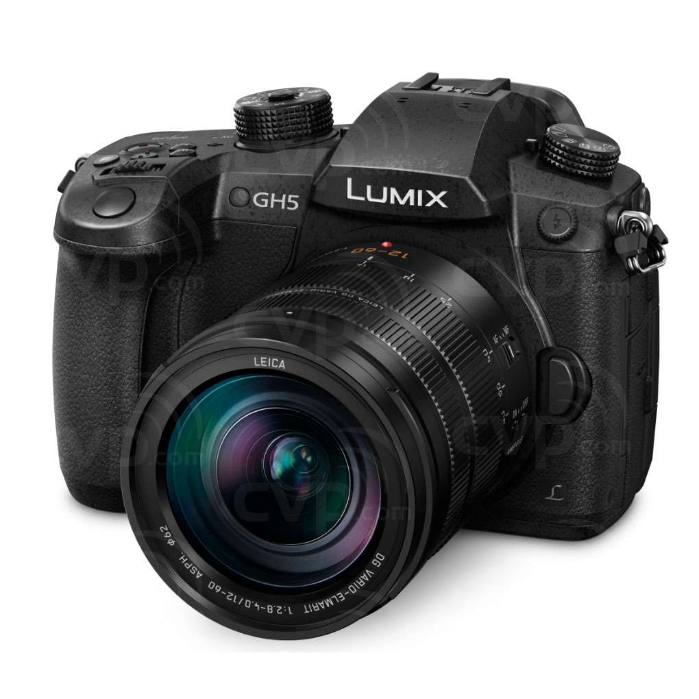 Panasonic Lumix DC-GH5 20.3MP Compact System Camera with 12-60mm f2.8-4