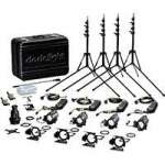 Dedolight KA24-4B (KA244B) Basic Four Light Tungsten 150W 24V Kit