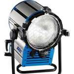 ARRI (L0.33730.X) True Blue D12 Fresnel Light Set Including, 1x Lamphead, EB 575/1200 (L2.76125.0),1x 4-leaf Barndoor, 1x Filterframe and 1x Head to Ballast Cable