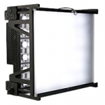 Gekko karesslite 300 series Bi-Colour 3200K-5600K Blendable LED soft light, AC / DC (with v-mount for battery power)