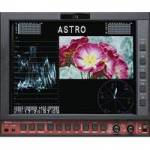 Astro WM-3208 (WM3208) 8inch Dual Link HD/SD Portable LCD monitor with integrated Waveform / Vector Scope