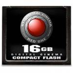 RED 16GB Compact Flash Card, Compatible with the RED FLASH CF MODULE (p/n750-0009)