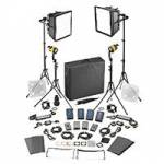 Dedolight SLED2x2-BI-M 4-Light Kit - BICOLOR AC/DC (Master) (2x DLED / 2x Felloni) (SLED2x2BIM)