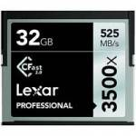 Lexar (LC32GCRBEU3500) 32GB Professional 3500x CFast 2.0 Memory Card