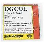 Dedolight DGCOL Gel Filter Set Colour Effect fits the DFH filter holder (classic Dedolight) 36 Gels