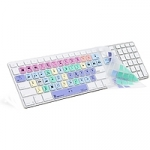 Logic Keyboard - Apple Final Cut X M89 Clear UK Apple Keyboard Skin Only (LS-FCPX10-M89-UK)