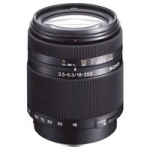 Sony SAL-18250 (SAL18250) A-Mount DT 18-250mm f/3.5-6.3 Telephoto High Zoom Digital Camera Lens