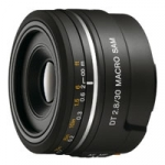 Sony SAL-30M28 (SAL30M28) A-Mount DT 30mm f/2.8 SAM Macro Digital Camera Lens