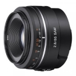 Sony SAL-85F28 (SAL85F28) A-Mount 85mm f/2.8 SAM Mid-Range Prime Digital Camera Lens