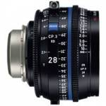 Zeiss CP.3 XD 28mm T2.1 Compact Prime Cine Lens - PL Mount Available in Feet and Metre Scale (2193-314 / 2193-309)