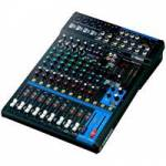 Yamaha MG12XU 12 Channel Mixing Console with 12 Input Channels, 6 Mic Inputs and 4 Stereo Line Inputs