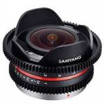 Samyang 7.5mm T3.8 Fisheye VDSLR Cine Lens for Micro Four Thirds (7800)