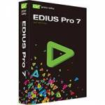 Grass Valley GV-ED7 (GVED7) EDIUS Pro 7 Versatile real-time Editing Software for 4K, 3D, HD, SD, and Almost any Format from 24x24 to 4Kx2K