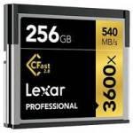 Lexar LC256CRBEU3600 (LC256CR-BEU3600) 256GB Professional 3600x 2.0 CFast Card
