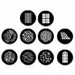 Dedolight GM-GMAS10-M - Master Gobo Set of 10