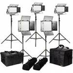 Ikan RB-2F3H (RB2F3H) Rayden Bi-Colour 5-Point LED Light Kit with 2x RB10 & 3x RB5