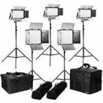 Ikan RW-2F3H (RW2F3H) Rayden Daylight 5-Point LED Light Kit with 2x RW10 LED Lights & 3x RW5 LED Lights