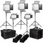 Ikan RW-3F2H (RW-3F2H) Rayden Daylight 5-Point LED Light Kit with 3x RW10 LED Lights & 2x RW5 LED Lights