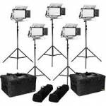 Ikan RW5-5PT-KIT (RW55PTKIT) Rayden Daylight 5-Point LED Light Kit with 5x RW5 LED Lights