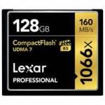 Lexar (LCF128CRBEU1066) Professional CF 128GB 1066x 160MB/s Compact Flash Memory Card