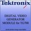 Tektronix DVG7 Digital Video generator module for TG700 Multi-Format Video Generator