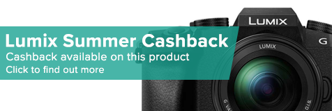 Panasonic Lumix Summer Cashback Promotion